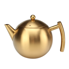Bouilloire à thé en acier inoxydable avec passoire