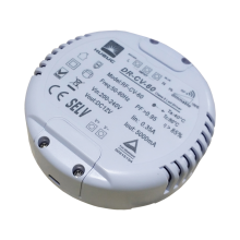 Conducteur mené dimmable de tension constante de 20W 24v