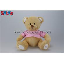 """11 """"Super niedlich Plüsch Braun Baby Bär Spielzeug mit rosa T-Shirt"""