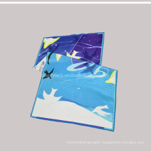 Pure Cotton Woven Digital Printing Sports Hand Face Beach Towel