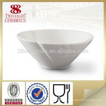 Чаочжоу небольшой равнине дешевые керамическая круглая чаша для гостиницы