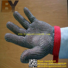 Chainmail Safety Gloves Meat Cutting Gloves