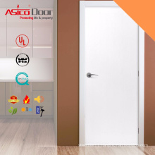 ASICO RAL Solid Color White Wooden Flush Door For Interior