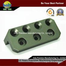 Угол блока CNC Филируя подвергая механической обработке 6063 Алюминиевый CNC подвергая механической обработке
