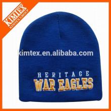 Зимние высококачественные шапки с эмблемой 3D вышивки