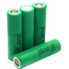 Bateria recarregável de 2500mAh de bateria de lítio de alto drenagem 25A