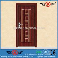 JK-SW9022 steel wooden armor door/steel wooden door