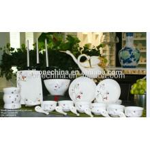 Paquistán India vajilla de cerámica microwavable bowls decoración de la cocina de la cocina hecha en China