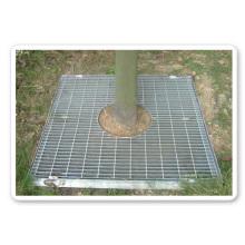 La couverture de la piscine de l'arbre permet à l'arbre de profiter pleinement du soleil et de l'air