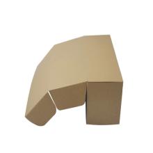 Cajas de envío de cartón reciclado impresas logotipo personalizado