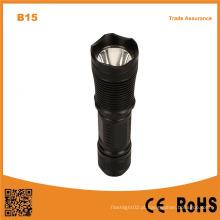 B15 lanterna de alumínio LED tocha melhor qualidade lanterna de segurança ao ar livre