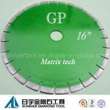 """GP 16 """"* 15 mm hohe Qualität Diamond kreisförmige Granit Sägeblatt"""