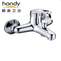Wall Mounted Bathtub Faucet Faucet Chrome