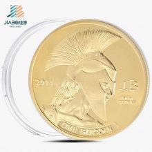 Venda Quente Personalizar O Ouro, Lembrança, Comemorativa Moeda em Metal