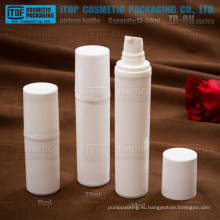 ZB-QH серии 15 мл 30 мл 50 мл белого пластика PP цвет настраиваемые лосьон насос бутылки насоса раунд airlesses