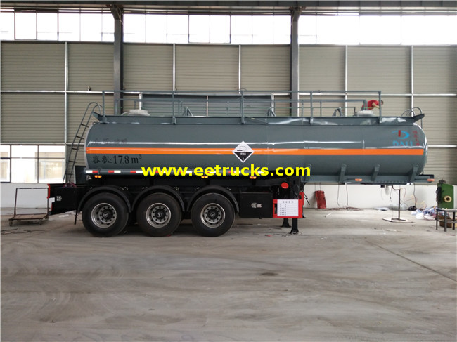 18000L Sulfuric Acid Trailer Tanks