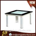 60cm square scratch proof tea coffee table
