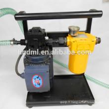 Purification d'huile / Chariot filtre à huile / Purificateur d'huile portable