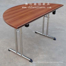 Half Round Table with Folding Leg (YC-T02-01)