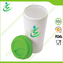 16 Oz BPA Taza de café gratis, taza de café al por mayor