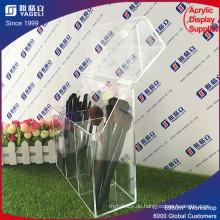Transparente Box Design Acryl Make-up Pinselhalter