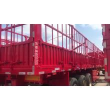 Estaca de transporte de animales de entrega resistente de tres ejes