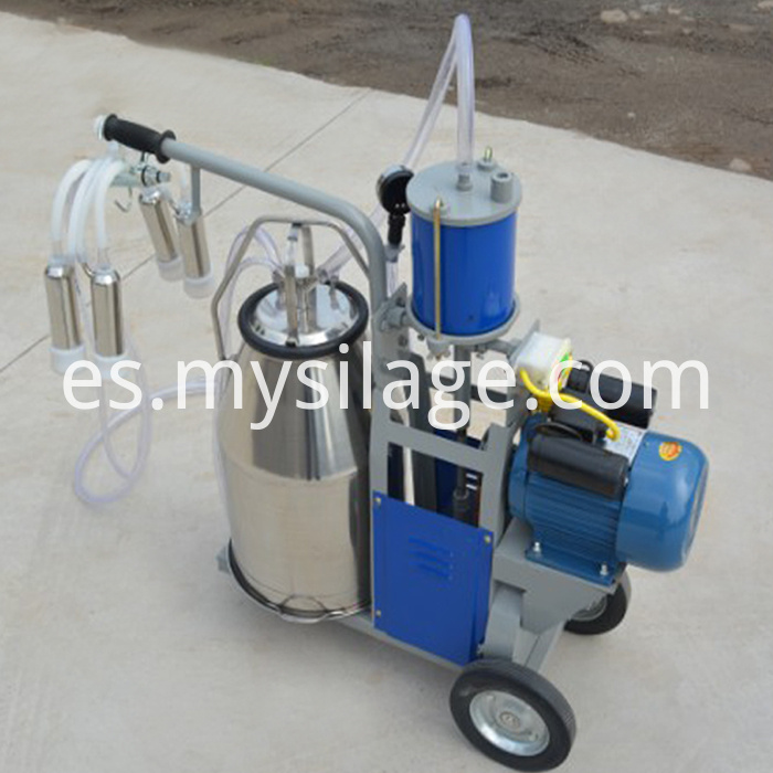 piston typed milking machine