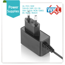 Factory price European 8.5v 19v 2.0a power supply adapter