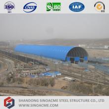 Steel Space Frame Structure Train de Estacionamiento