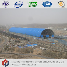 Steel Space Structure Structure Train Parking