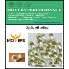 GMP Certified OEM Cápsula de aceite de ajo