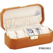 Leder Uhrenbox Großhandel für 5 Uhren Hersteller gute Qualität