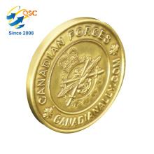 China Fornecedores MOQ Baixo Desafio 3D Personalizado Ouro Prata Moeda Antiga
