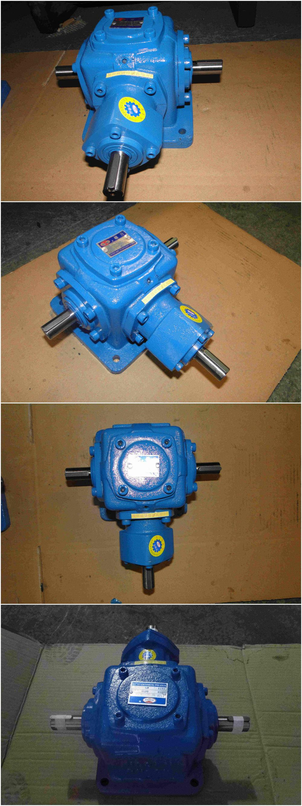 Industrial Right Angle 919N.m Spiral Bevel Gearbox