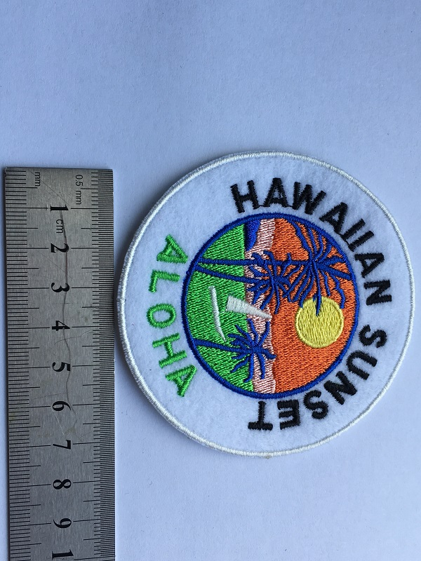 Round Badge Patch