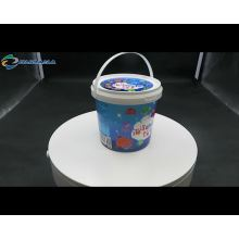 Stocked good quality tamper evident plastic paint bucket plastic buckets with lids and handle pail