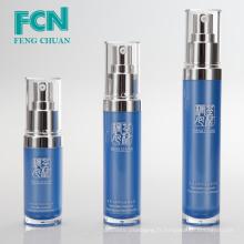 Conception de bouteille de lotion en plastique avec pompe professionnelle emballage cosmétique soins de la peau