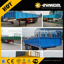 Side Wall 3-4 Axles 60-100Tons Semi Trailer / Container Trailer For Sale