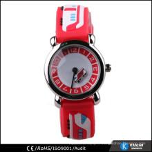 Dessin animé en retour en acier inoxydable, montres pour enfants