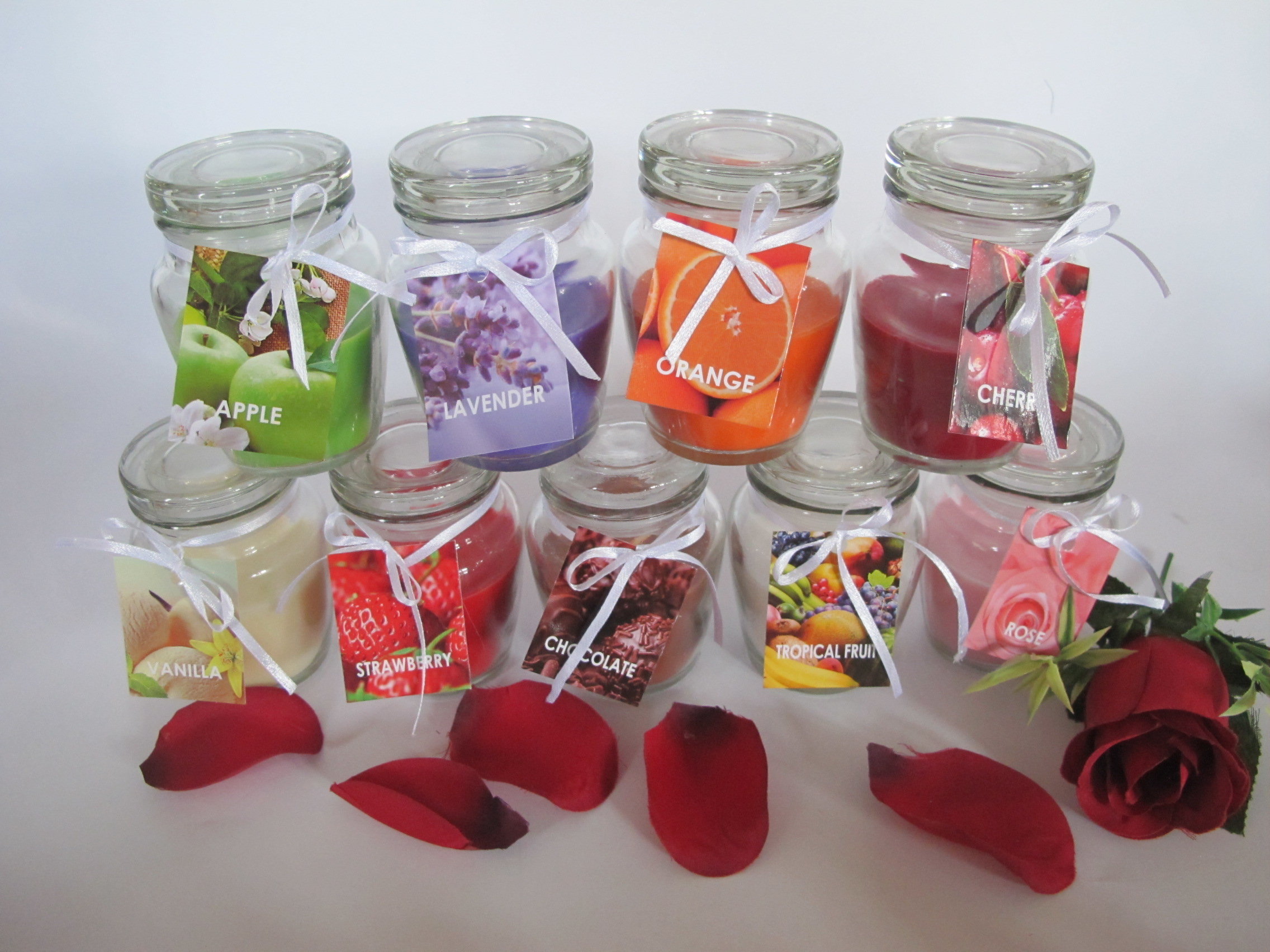 Scented Glass Candles for Sale