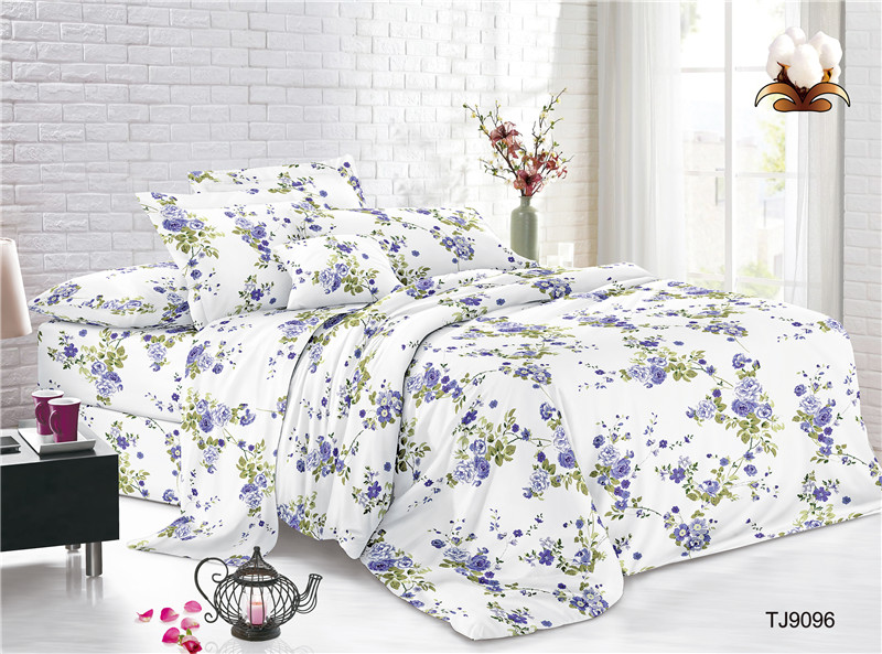 Digital Print Polyester Voile Bed Cover