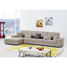 Inchroom Living Room Furniture Sofá de canto de tecido