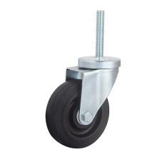 Roulette à roulement latéral à frein latéral, roulettes institutionnelles