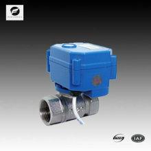 Válvula de control de temperatura inalámbrica de 2 vías para aire acondicionado 110vac
