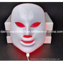 СИД фотона цвета светодиодные фонари маска с 7 цветов