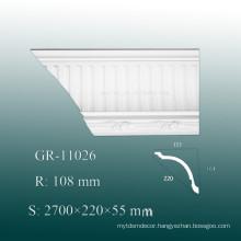 2015 New Elagan Exterior Polyurethane moulding Replacement PU Molding