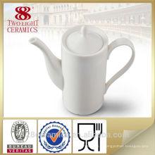 Pot expresso en porcelaine blanche en céramique