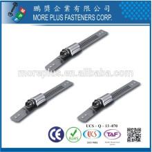 Fabriqué à Taiwan Accessoires en acier inoxydable à haute pression en serrage hydraulique Schlauchklemmen Tuyauterie