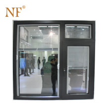 acoustic aluminium double glazed windows with blinds inside