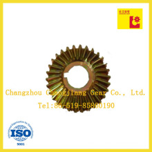 DIN ANSI Standard Spiral Bevel Worm Gear for Transmission Gearbox